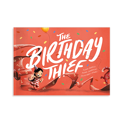 The Birthday Thief Book
