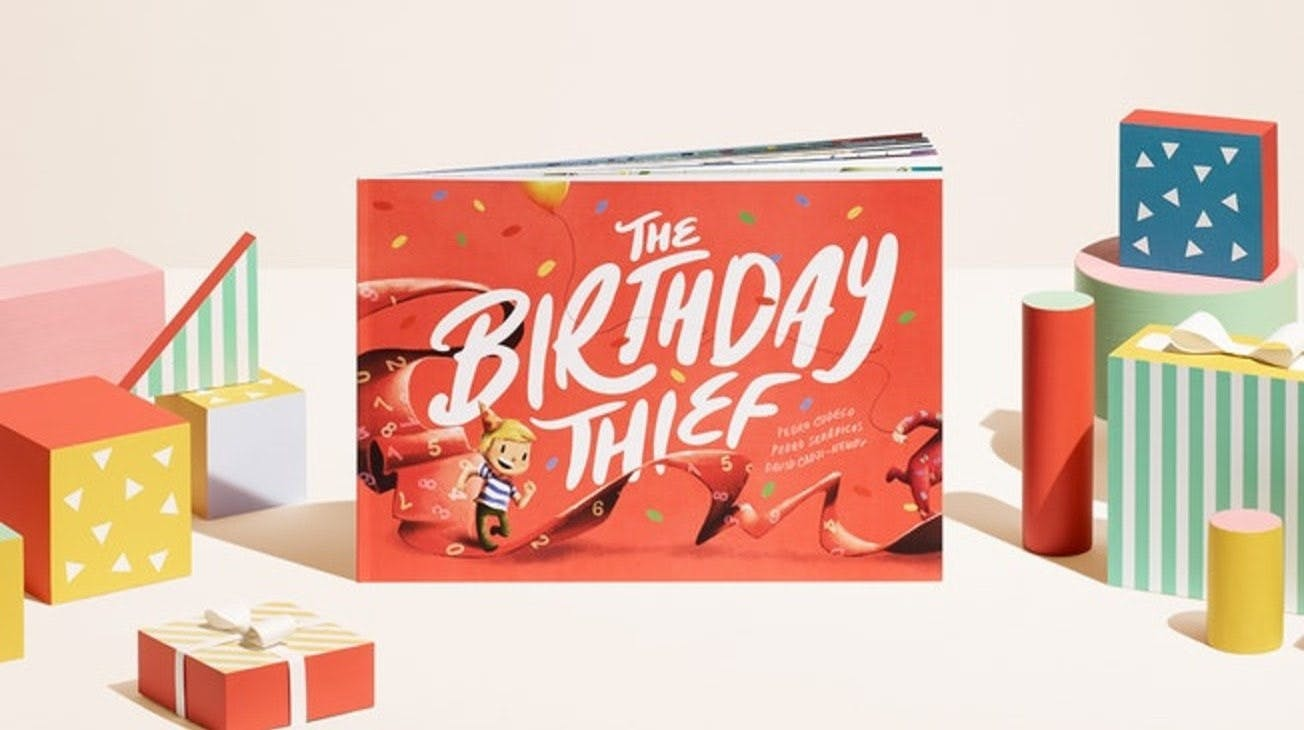 The Birthday Thief Personalized Birthday Book Wonderbly