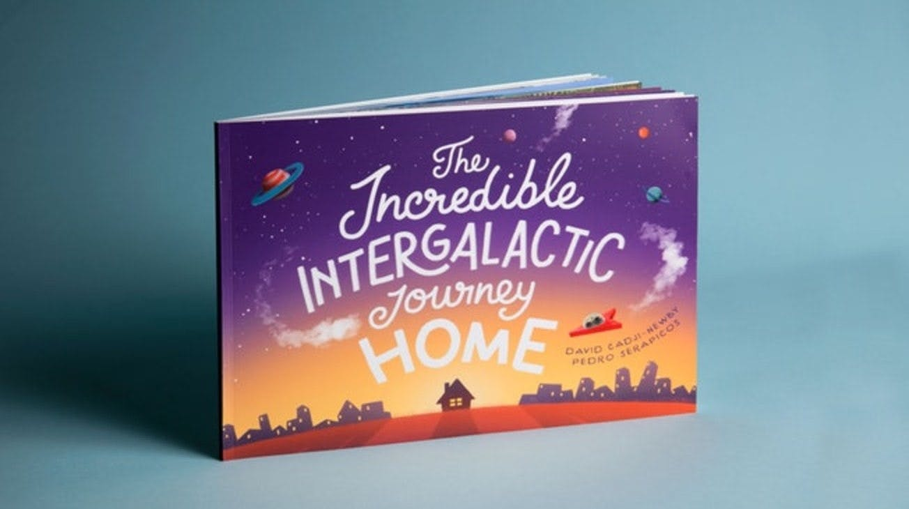 A photography shot of the Incredible Intergalatic Journey Home