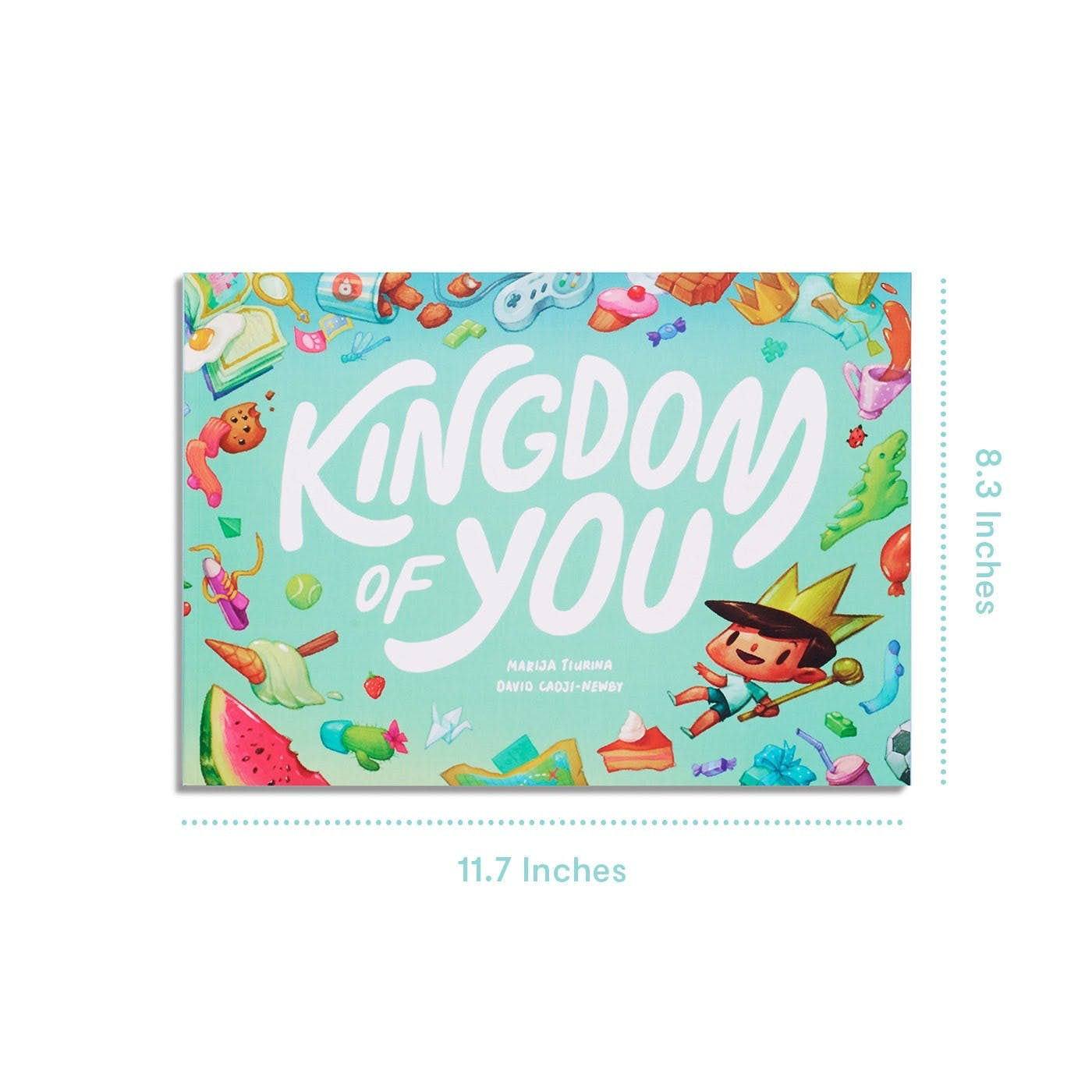 Kingdom of You - Product Specification  of the dimensions of the book
