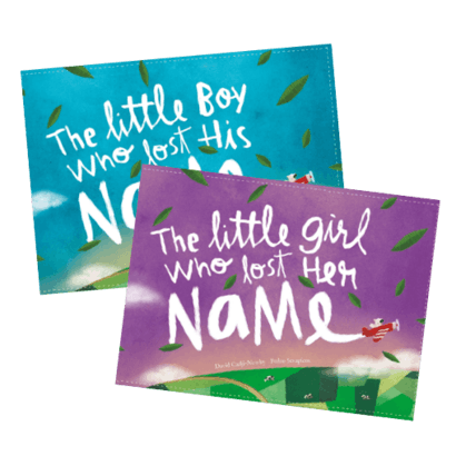 The little girl who lost her name and the little boy who lost his name book