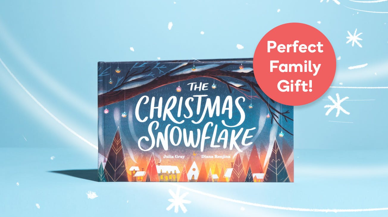 Perfect Family Gift Snowflake book