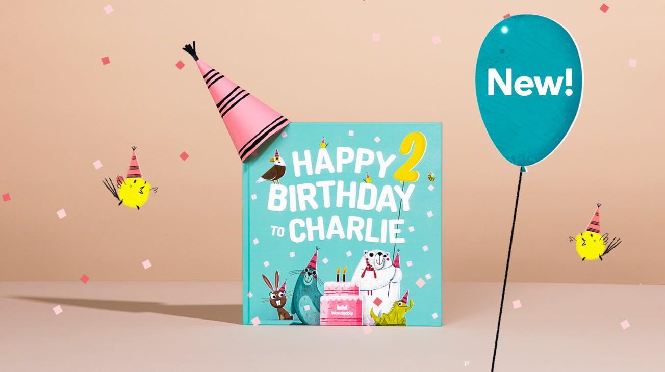 Happy Birthday Book Mint Image One