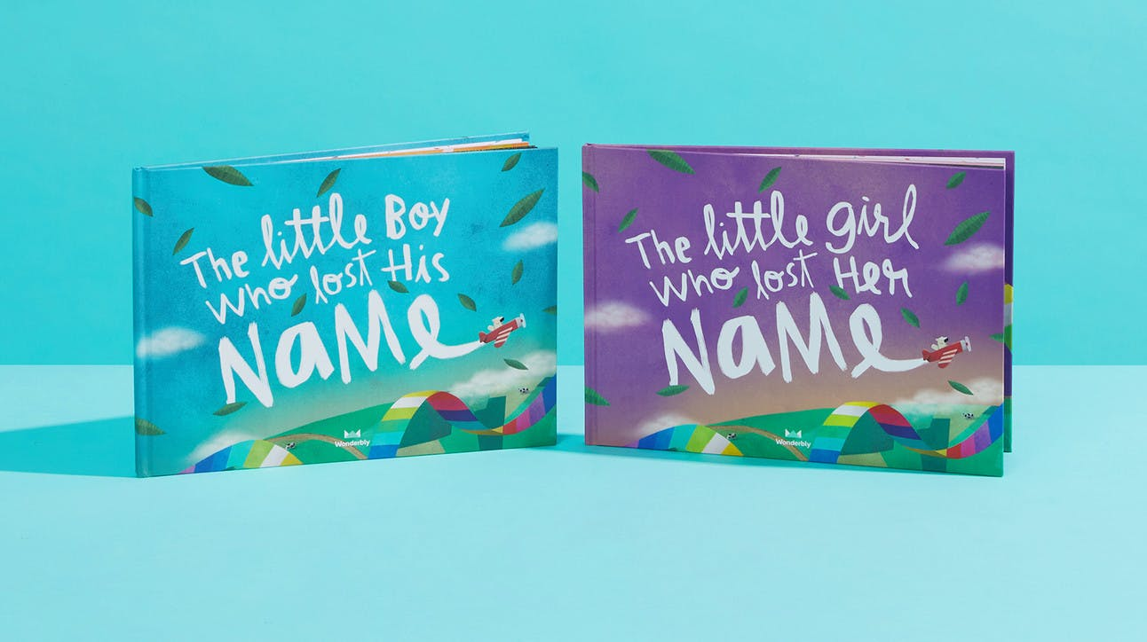 Preview of Lost My Name Book - Front Covers