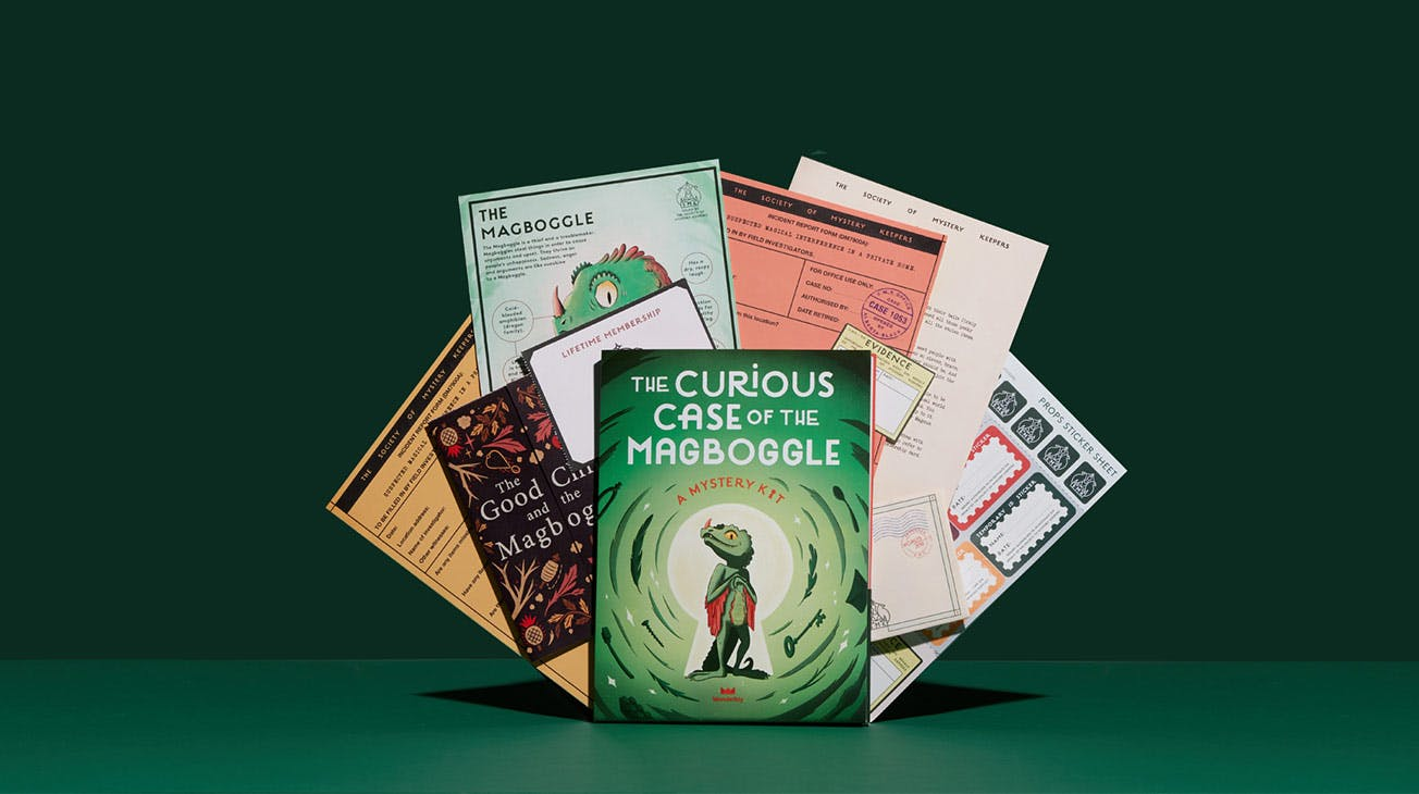 The Curious Case of the Magboggle – A Wonderbly Mystery Kit Carousel Image 1