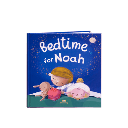 """""""Bedtime for Noah"""" - preview of Bedtime for You book, for a child named Noah"""