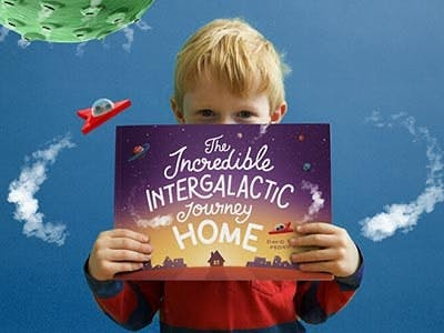 The incredible Intergalatic Journey Home Blog Post