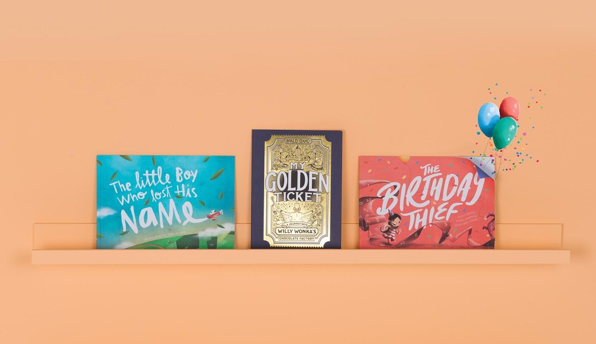 Impossibly personalized books