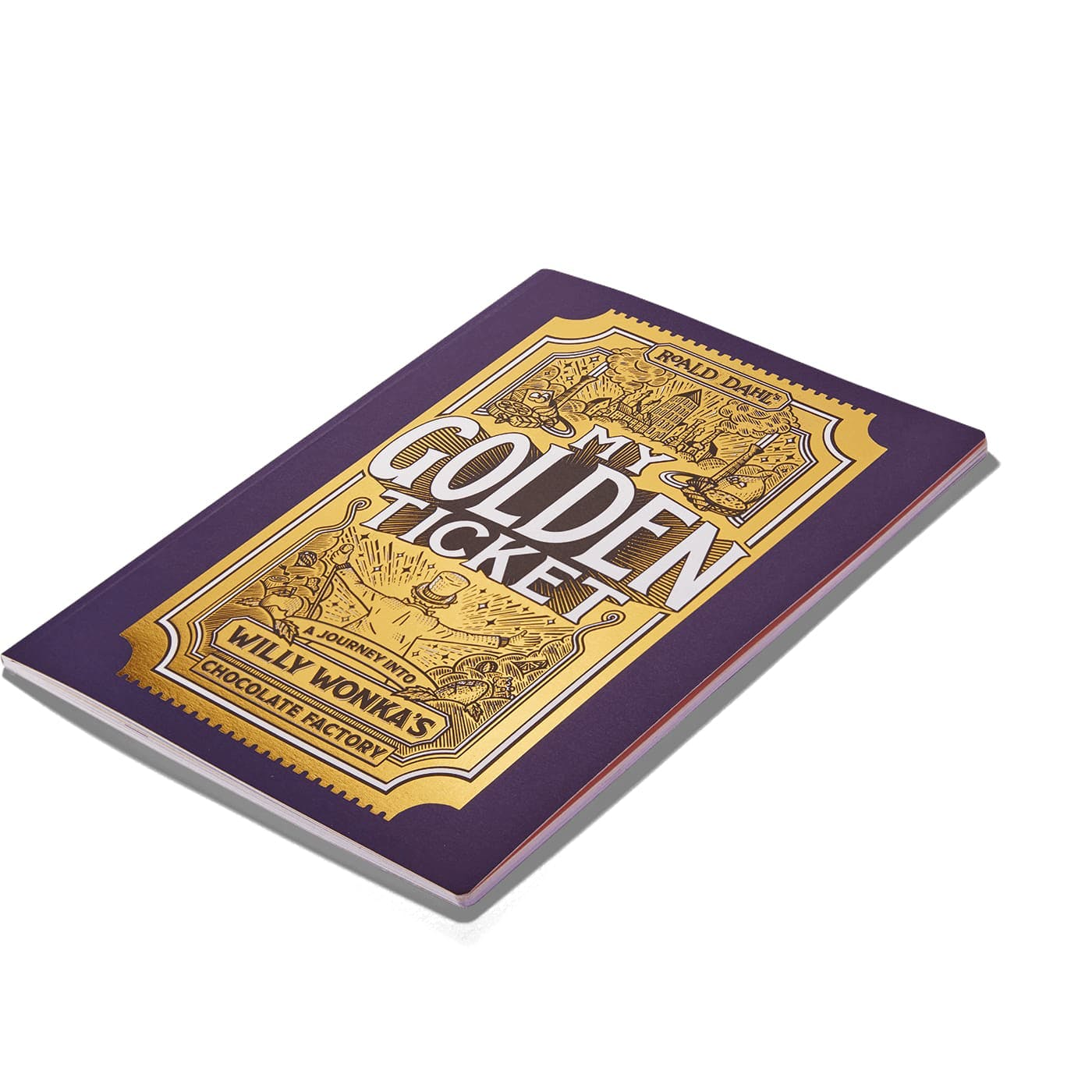 My Golden Ticket - Product Specification 1 of the book dimensions
