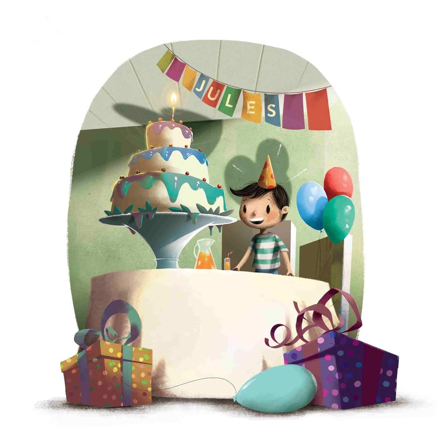 Leur prénom, leur aventure d'anniversaire