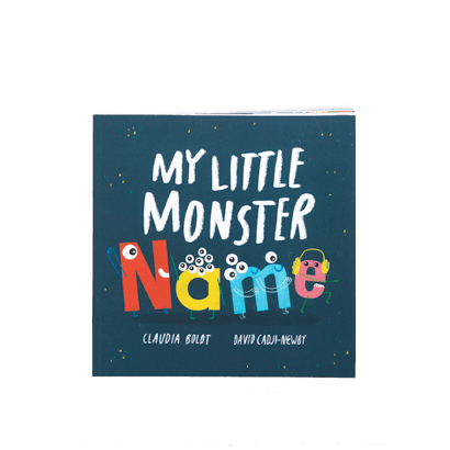 My little monster name book range image
