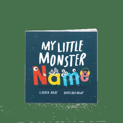 My little monster name book range image